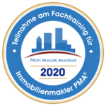 Emblem 2020 - PMA(R) Fachtraining fur Im mobilienmakler (klein transparent)